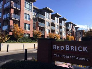 "Main Photo: 307 7088 14TH Avenue in Burnaby: Edmonds BE Condo for sale in ""RED BRICK"" (Burnaby East)  : MLS®# R2322828"