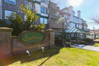 "Main Photo: 211 1576 MERKLIN Street: White Rock Condo for sale in ""THE EMBASSY"" (South Surrey White Rock)  : MLS®# R2344553"