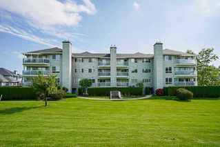 Photo 1: 201 13680 84 Avenue in Surrey: Bear Creek Green Timbers Condo for sale : MLS®# R2356587