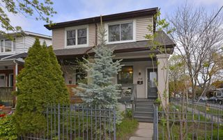 Photo 1: 154 Mountjoy Avenue in Toronto: Greenwood-Coxwell House (2-Storey) for sale (Toronto E01)  : MLS®# E4455806
