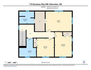 Photo 41: 719 DECOTEAU Way in Edmonton: Zone 27 House for sale : MLS®# E4209595