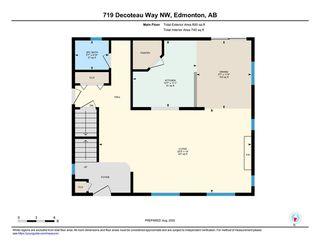 Photo 40: 719 DECOTEAU Way in Edmonton: Zone 27 House for sale : MLS®# E4209595
