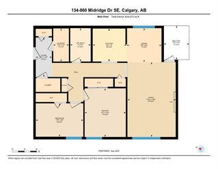 Photo 22: 134 860 MIDRIDGE Drive SE in Calgary: Midnapore Apartment for sale : MLS®# A1034237