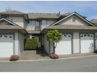 "Photo 1: 4 4725 221 Street in Langley: Murrayville Townhouse for sale in ""Summerhill Gate"" : MLS®# F1410791"