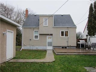 Photo 18: 377 Mandeville Street in WINNIPEG: St James Residential for sale (West Winnipeg)  : MLS®# 1530269