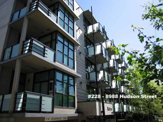 "Photo 1: 228 8988 HUDSON Street in Vancouver: Marpole Condo for sale in ""RETRO LOFTS"" (Vancouver West)  : MLS®# R2061746"