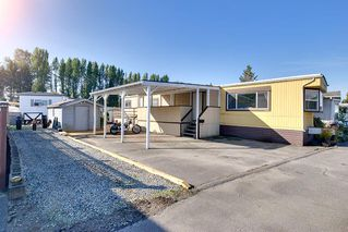 "Photo 1: 100 201 CAYER Street in Coquitlam: Maillardville Manufactured Home for sale in ""WILDWOOD PARK"" : MLS®# R2309081"