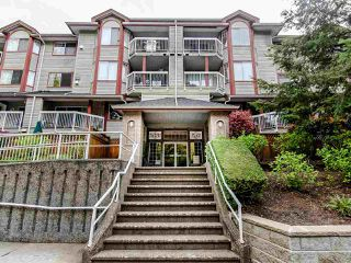 "Main Photo: 209 1215 PACIFIC Street in Coquitlam: North Coquitlam Condo for sale in ""Pacific Place"" : MLS®# R2452408"