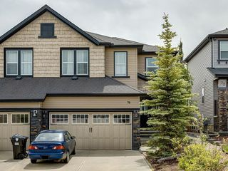 Photo 1: 76 SAGE HILL Point NW in Calgary: Sage Hill Semi Detached for sale : MLS®# C4305978