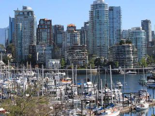 "Photo 1: 204 1490 PENNYFARTHING Drive in Vancouver: False Creek Condo for sale in ""HARBOUR COVE"" (Vancouver West)  : MLS®# V872737"