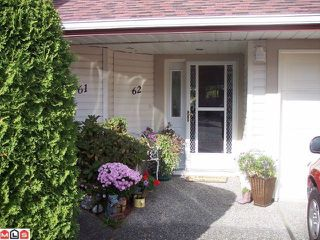 """Photo 1: 62 31406 UPPER MACLURE Road in Abbotsford: Abbotsford West Townhouse for sale in """"Estates of Ellwood."""" : MLS®# F1126258"""