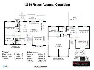 Photo 20: 3010 REECE Avenue in Coquitlam: Meadow Brook House for sale : MLS®# V1091860