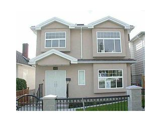 Photo 1: 3234 TURNER Street in Vancouver: Renfrew VE House for sale (Vancouver East)  : MLS®# V1120654