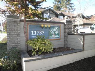 Photo 2: 33 11737 236 Street in Maple Ridge: Cottonwood MR Townhouse for sale : MLS®# R2033518