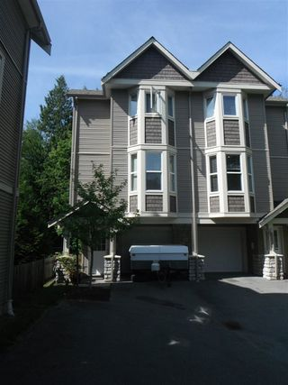 "Photo 1: 20 33321 GEORGE FERGUSON Way in Abbotsford: Central Abbotsford Townhouse for sale in ""Cedar Lane"" : MLS®# R2034080"