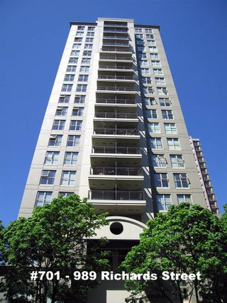 "Photo 1: 701 989 RICHARDS Street in Vancouver: Downtown VW Condo for sale in ""MONDRIAN"" (Vancouver West)  : MLS®# R2061790"