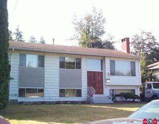 """Photo 1: 11394 GLEN AVON DR in Surrey: Bolivar Heights House for sale in """"BIRDLAND"""" (North Surrey)  : MLS®# F2518004"""