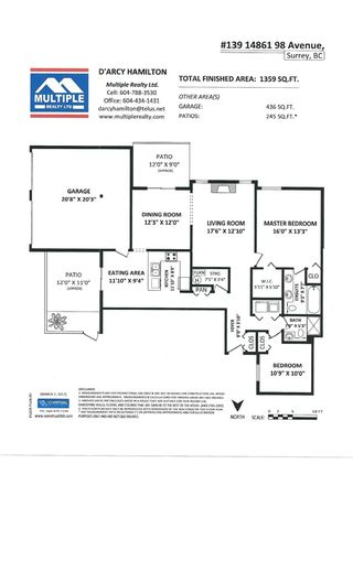 """Photo 20: 139 14861 98 Avenue in Surrey: Guildford Townhouse for sale in """"The Mansions"""" (North Surrey)  : MLS®# R2146574"""