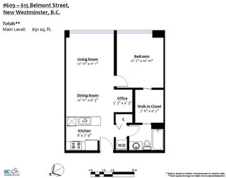 """Photo 20: 609 615 BELMONT Street in New Westminster: Uptown NW Condo for sale in """"BELMONT TOWER"""" : MLS®# R2249103"""