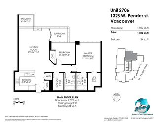 Photo 18: 2706 1328 W PENDER Street in Vancouver: Coal Harbour Condo for sale (Vancouver West)  : MLS®# R2299198