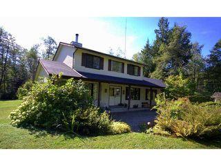 Main Photo: 27850 112TH Avenue in Maple Ridge: Whonnock House for sale : MLS®# V911698