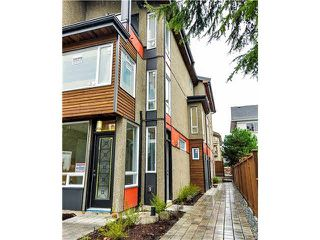 "Photo 19: 1808 E PENDER Street in Vancouver: Hastings Townhouse for sale in ""AZALEA HOMES"" (Vancouver East)  : MLS®# V1051679"