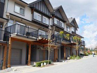 "Photo 1: 46 55 HAWTHORN Drive in Port Moody: Heritage Woods PM Townhouse for sale in ""COBALT SKY"" : MLS®# V1057992"