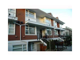 "Photo 1: 57 6528 DENBIGH Avenue in Burnaby: Forest Glen BS Townhouse for sale in ""OAKWOOD"" (Burnaby South)  : MLS®# V1088478"