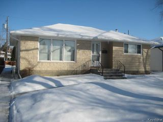 Photo 1: 921 Prince Rupert Avenue in WINNIPEG: East Kildonan Residential for sale (North East Winnipeg)  : MLS®# 1502740