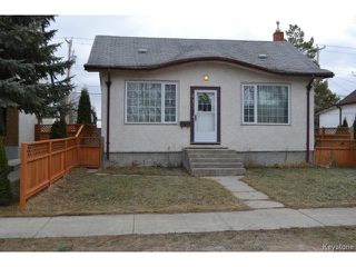 Photo 1: 415 Brooklyn Street in WINNIPEG: St James Residential for sale (West Winnipeg)  : MLS®# 1505642