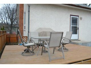 Photo 13: 415 Brooklyn Street in WINNIPEG: St James Residential for sale (West Winnipeg)  : MLS®# 1505642