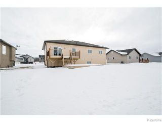Photo 20: 550 Heloise Bay in Ste Agathe: Glenlea / Ste. Agathe / St. Adolphe / Grande Pointe / Ile des Chenes / Vermette / Niverville Residential for sale (Winnipeg area)  : MLS®# 1602083