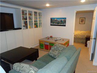 Photo 17: 11 Torrington Road in Winnipeg: Fort Garry / Whyte Ridge / St Norbert Residential for sale (South Winnipeg)  : MLS®# 1607540