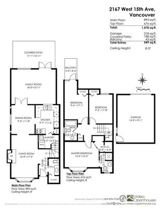Photo 20: 2167 W 15TH Avenue in Vancouver: Kitsilano 1/2 Duplex for sale (Vancouver West)  : MLS®# R2203885