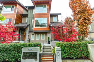 "Photo 1: 1 897 PREMIER Street in North Vancouver: Lynnmour Townhouse for sale in ""Legacy @ Nature's Edge"" : MLS®# R2223427"