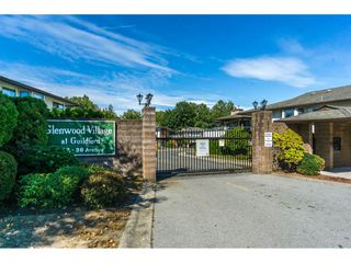 "Photo 1: 102 15153 98 Avenue in Surrey: Guildford Townhouse for sale in ""GLENWOOD VILLAGE"" (North Surrey)  : MLS®# R2302083"