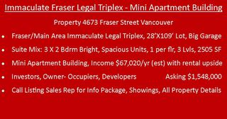 "Photo 3: 4673 FRASER Street in Vancouver: Fraser VE House for sale in ""FRASER"" (Vancouver East)  : MLS®# R2355078"