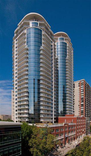 Photo 1: 1504 10136 104 Street in Edmonton: Zone 12 Condo for sale : MLS®# E4175696