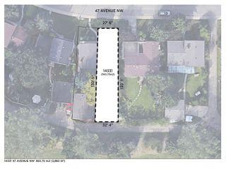 Main Photo: 14331 47 Avenue in Edmonton: Zone 14 Vacant Lot for sale : MLS®# E4207537