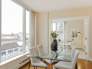 """Photo 12: 506 1833 CROWE Street in Vancouver: False Creek Condo for sale in """"The Foundry"""" (Vancouver West)  : MLS®# R2513678"""