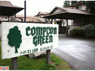 "Photo 9: 20 2050 GLADWIN Road in Abbotsford: Central Abbotsford Townhouse for sale in ""COMPTON GREEN"" : MLS®# F1108330"