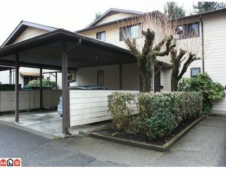 "Photo 1: 20 2050 GLADWIN Road in Abbotsford: Central Abbotsford Townhouse for sale in ""COMPTON GREEN"" : MLS®# F1108330"
