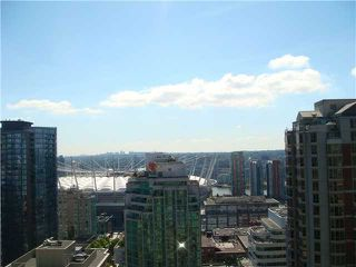 """Photo 8: 2506 833 HOMER Street in Vancouver: Downtown VW Condo for sale in """"ATELIER ON ROBSON"""" (Vancouver West)  : MLS®# V905747"""