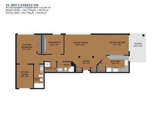 Photo 25: 1 4907 8 Street SW in Calgary: Britannia Condo for sale : MLS®# C4110034