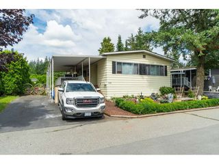 "Photo 1: 110 3665 244 Street in Langley: Otter District Manufactured Home for sale in ""Langley Grove Estates"" : MLS®# R2383716"