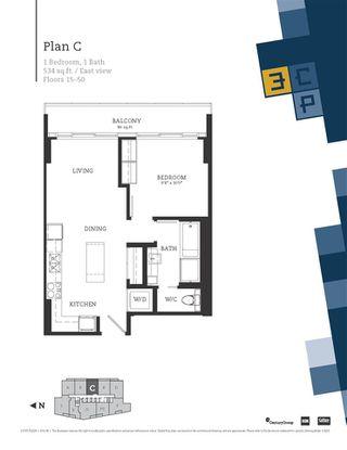 "Photo 7: 2603 13495 CENTRAL Avenue in Surrey: Whalley Condo for sale in ""3 Civic Plaza"" (North Surrey)  : MLS®# R2469786"