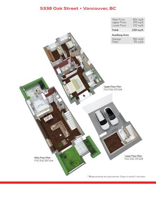 """Photo 21: 5338 OAK Street in Vancouver: Cambie Townhouse for sale in """"HAMLIN MEWS"""" (Vancouver West)  : MLS®# R2528197"""