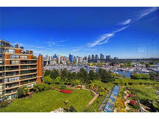 "Photo 2: # 703 1470 PENNYFARTHING DR in Vancouver: False Creek Condo for sale in ""HARBOUR COVE"" (Vancouver West)  : MLS®# V950285"