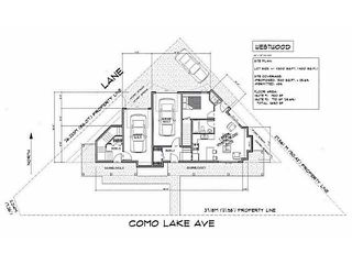 Photo 1: 2989 COMO LAKE Avenue in Coquitlam: Meadow Brook Land for sale : MLS®# V1042293