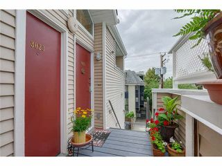 """Photo 1: 3023 WILLOW Street in Vancouver: Fairview VW Townhouse for sale in """"Willow West"""" (Vancouver West)  : MLS®# V1089484"""